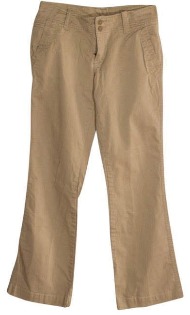 Preload https://item5.tradesy.com/images/american-eagle-outfitters-khaki-flared-pants-size-6-s-28-554609-0-0.jpg?width=400&height=650