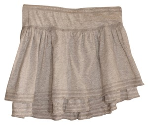 Hollister Mini Skirt Gray