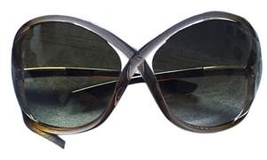 Tom Ford Whitney oversized soft round sunglasses