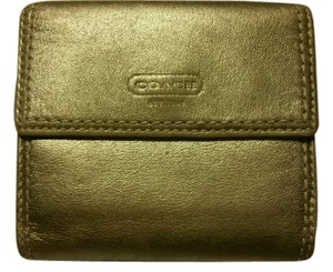Coach Coach gold wallet