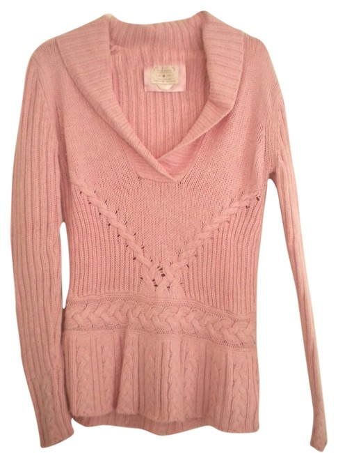 Preload https://item1.tradesy.com/images/old-navy-pink-sweaterpullover-size-10-m-5546410-0-0.jpg?width=400&height=650