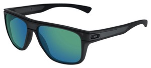 Oakley Oakley OO9199-06 Black w/Green Lens Polarized Sunglasses