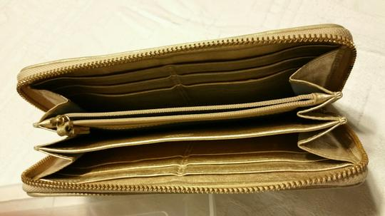 Coach Coach Accordion wallet with gold hardware