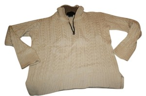 PereGrine Wool Cream Taupe New Knit Sweater