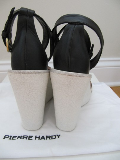 Pierre Hardy White, Brown, Black Wedges