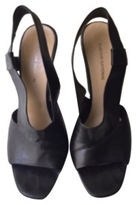 CoSTUME NATIONAL Blac Wedges