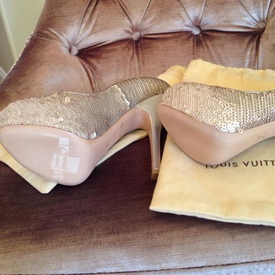 Louis Vuitton Sand Platforms