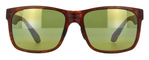 Maui Jim Maui Jim Tortoise/Green Lenses Polarized HT432-10M Sunglasses