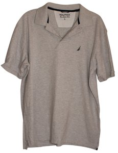 Nautica Button Down Shirt Gray
