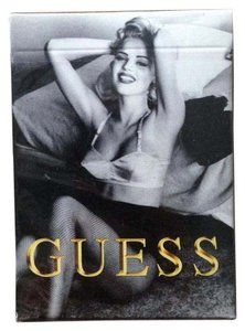 Guess Guess 90s Models Collector's Item Playing Cards by Ellen von Unwerth