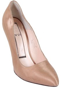 No21 Silk Stiletto Party Nude, Dusty rose Pumps