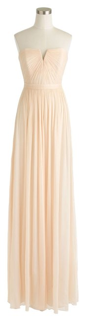 J.Crew Petite Flowy Silk Chiffon Wedding Bridesmaid Bride Bridal Dress