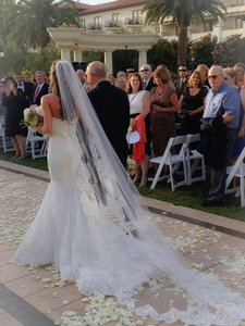 Blanca Veils Beautiful Cathedral Length Veil