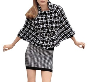 Juicy Couture Houndstooth Cape
