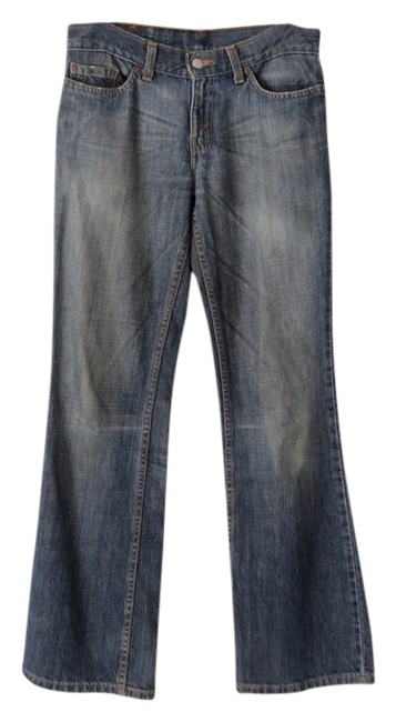 Levi's Low Rise Juniors Boot Cut Jeans-Distressed