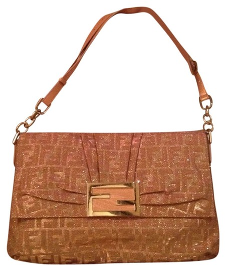 Fendi Gold Messenger Bag