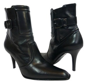 Cole Haan Short Leather Black Boots
