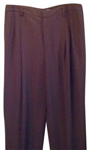 Ellen Tracy Straight Pants Brown