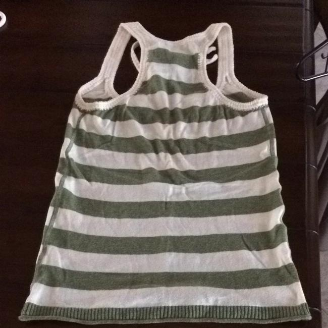 Abercrombie & Fitch Summer White Top Green