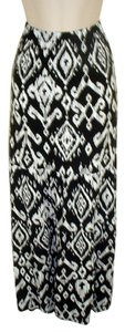 Chico's Maxi Skirt Black & White