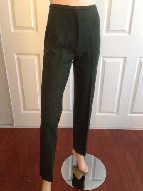Preload https://item4.tradesy.com/images/piazza-sempione-green-leg-straight-leg-pants-size-6-s-28-554868-0-0.jpg?width=400&height=650