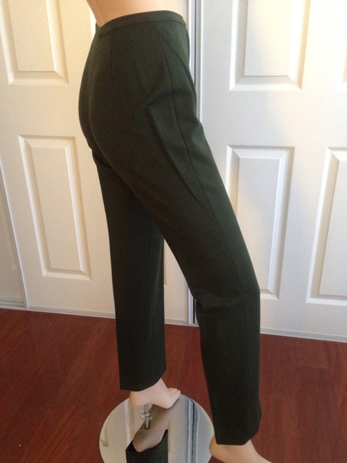 Piazza Sempione Straight Pants Green