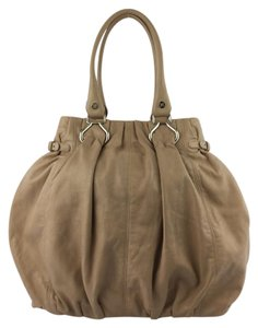 Cline Pillow Leather Shoulder Bag