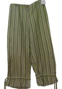 Dana Buchman Capris Greens/Browns/Black/White