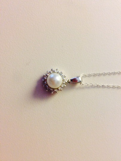 Blue Nile Pearl And Diamond Necklace