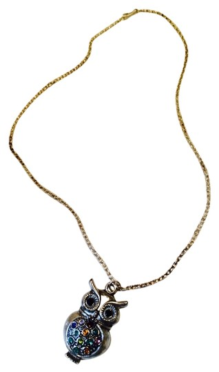 Preload https://item1.tradesy.com/images/silveryellow-owl-necklace-5549365-0-10.jpg?width=440&height=440