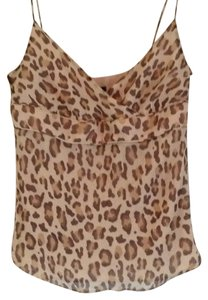 J.Crew Top Cheetah/cream