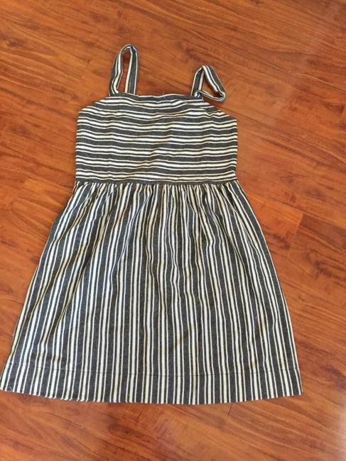 Ann Taylor LOFT short dress Black stripe on Tradesy