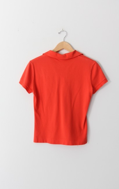 Lacoste Polo T Shirt Coral