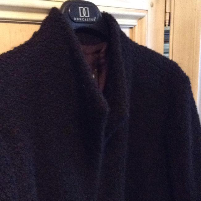 Eileen Fisher Short Collar Less Jacket Adorable On