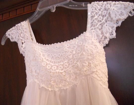 Ivory Lace Flower Girl Dress By Monsoon Uk