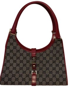 Gucci Satchel in Red/ brown