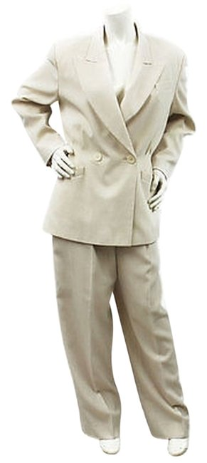 Mondi Mondi Double Breasted Wool Blend Pant Suit 38 or 10