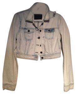 Zara White Womens Jean Jacket