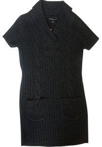 Stephanie Rogers short dress Charcoal Gray on Tradesy