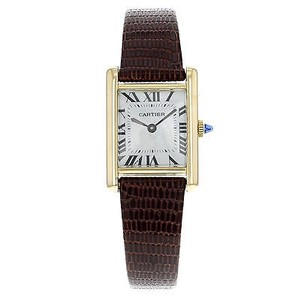 Cartier Cartier Must 20mm 18k Yellow Gold Manual Wind Ladies Watch