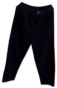Basic Editions Wide Leg Pants Blue