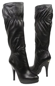 Michael Kors Stylish Sexy Leather Black Boots