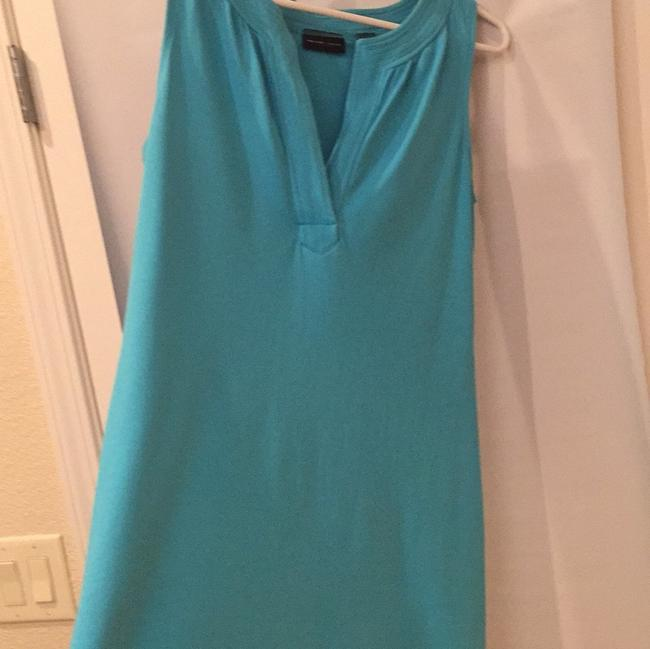 New York & Company short dress Aqua on Tradesy