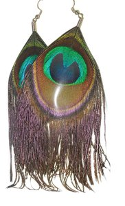 other peacock earings