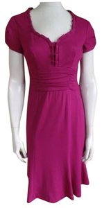Nanette Lepore short dress cranberry on Tradesy
