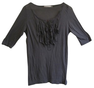Jpark Light 3/4 Sleeve Top Gray