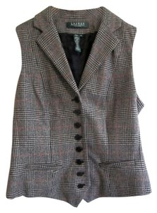 Ralph Lauren Wool Button Down Vest Cardigan