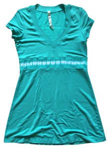 Lululemon short dress Green on Tradesy