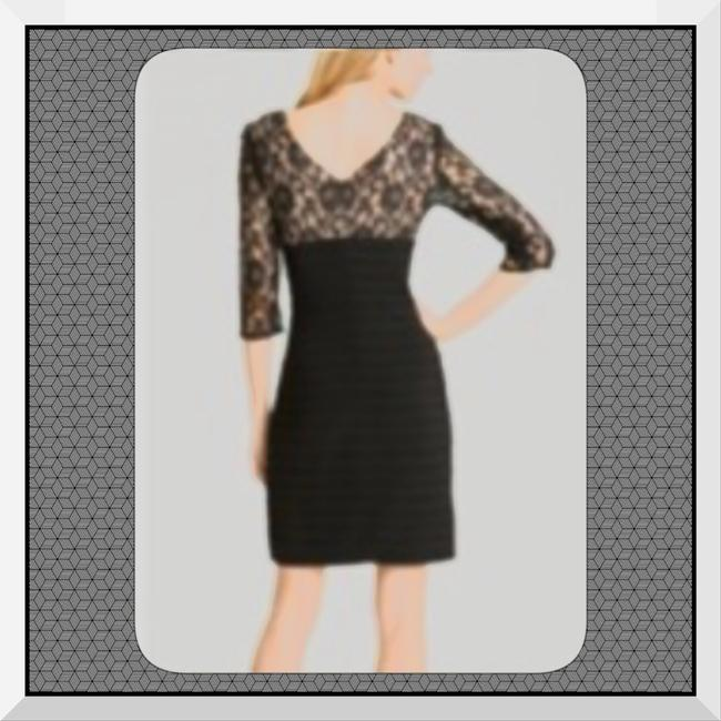 Adrianna Papell Party Semi Holiday Ball Gala Lace New Years Eve Dress