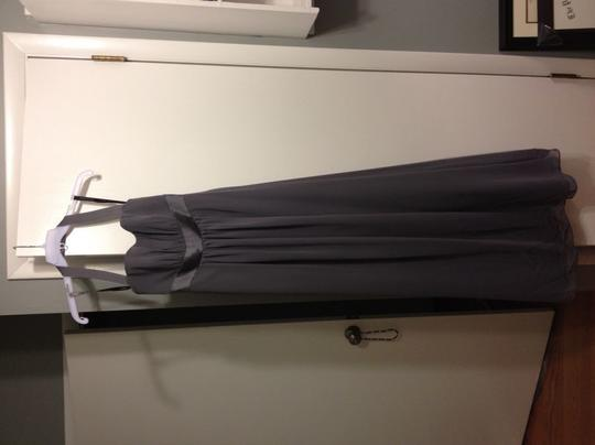 Alfred Angelo Grey 7016 Formal Bridesmaid/Mob Dress Size 6 (S)